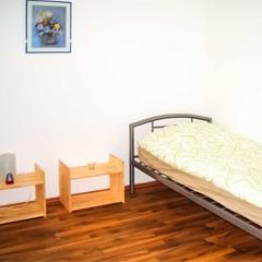 Schlafzimmer - Monteurwohnung in Duisburg Neudorf.